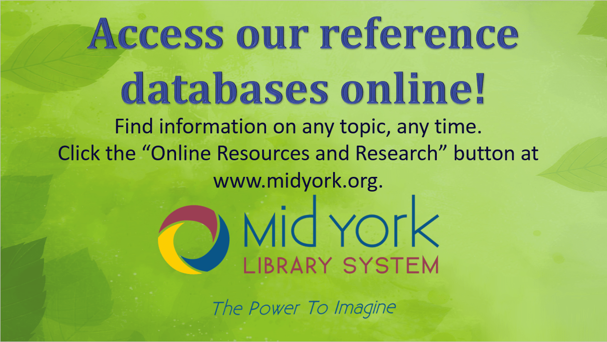 Public Library Online Resources